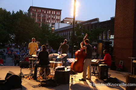 Jazz on the Square, Market Square, Knoxville, May 2014