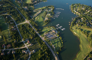 Featured Listings –Aerial view of Tellico Lake area